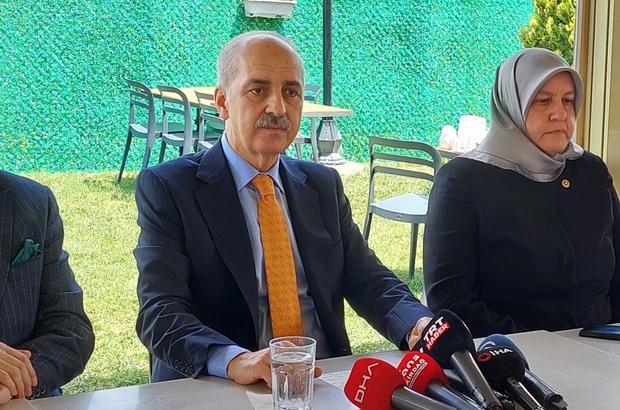 """AK Parti Genel Başkanvekili Kurtulmuş'tan yeni anayasa açıklaması AK Parti Genel Başkanvekili Prof. Dr. Numan Kurtulmuş: """"Türkiye'nin sivil, yeni, demokrat, kapsayıcı bir anayasa ihtiyacı kaçınılmaz bir şekilde ortadadır. Bunun için çalışmalarımızı son noktaya getiriyoruz"""" """"Türkiye ile NATO'nun çok eski ortaklığı var. Türkiye bu ortaklığın en önemli ülkelerinden biridir"""""""