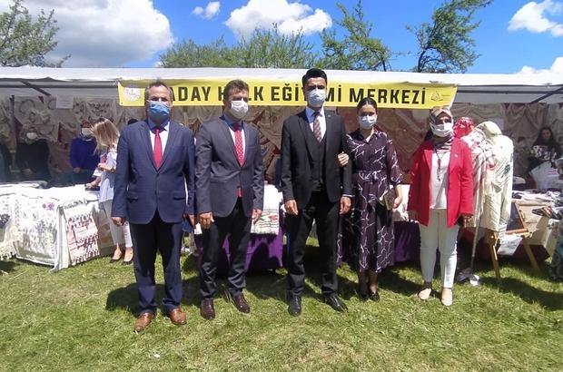 Daday'da Hayat Boyu Öğrenme şenliği göz doldurdu