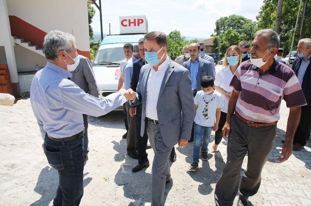 """Atakum Belediyesi dayanışmayı büyüttü Atakum Belediyesi'nden Kavak'a gezici mağaza Başkan Deveci: """"Herkesin elini tutmaya çalışıyoruz"""""""