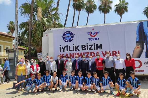 """Adana'da gönüllü kan bağışçıları buluştu Kızılay Genel Merkez Yönetim Kurulu Üyesi Saygılı: """"En büyük güç ve desteği gönüllü kan bağışçılarından alıyoruz"""""""