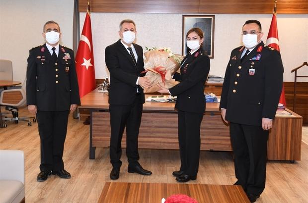 """Elban: """"Jandarma milletin huzur ve güveni için gece gündüz çalışıyor"""""""