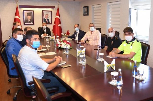 """Yeni Adana Stadı güvenlik toplantısı Vali Elban: """"Güvenlik güçlerimize destek olacak olan kıymetli Adanalı hemşehrilerimize güveniyoruz"""" """"İnanıyorum ki bu tesis Adana'nın ev sahipliğinde güzel karşılaşmalara ev sahipliği yapacak"""""""