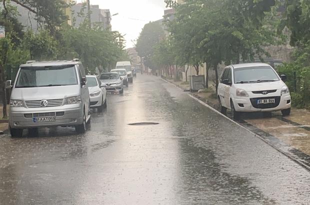 Metrekareye 50 kilodan fazla yağış düştü Ülke genelinde en çok yağmur Kaynaşlı ilçesine yağdı