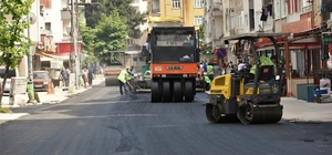Altınordu'da alt ve üstyapı çalışmaları sürüyor