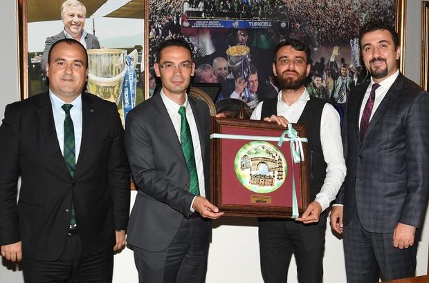 Limak Uludağ Elektrik, Bursaspor Kulübü'nü ziyaret etti