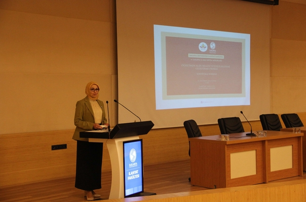 'Öğretmen Alan Bilgisi Yeterliliklerini Geliştirme Projesi' sertifika töreni düzenlendi