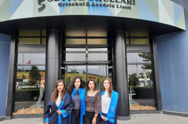 Denizlili kızlar 'Kurgusal Dava Yarışması'nda Türkiye 3.'sü oldu