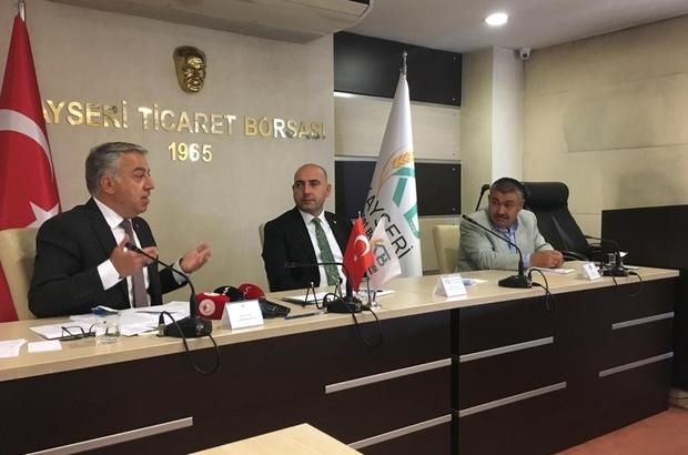"""Ziraat odaları başkanları istişare toplantısında buluştu Tarım ve Orman İl Müdürü Mustafa Şahin: """"27 yatırımcımıza 4 milyon 800 bin TL'lik yatırımına karşılık 2 milyon 400 bin TL'lik hibe destek verilecek"""""""