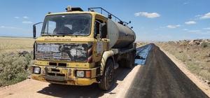 Siverek'te kırsal yolları büyükşehir yapıyor