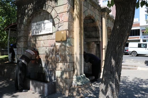 Kahramanmaraş'ta her köşe başında çeşme var kentte acemli, galip paşa, salih ağa, nuh, süleymanlı, uyuz pınarı ve şeyh adil çeşmeleri yıllardır akmaya devam ediyor - Kahramanmaraş Haberleri