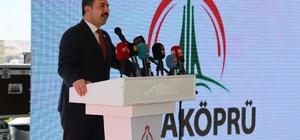 Karaköprü'de 26 yeni hizmet için toplu açılış töreni yapıldı