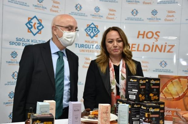Malatya Turgut Özal Üniversitesi' '3. Verimlilik ve Teknoloji Fuarı'nda