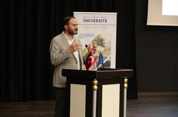 """HKÜ öğretim elemanları Mardin'de """"Zor Zamanlarda Mesleğinizden Güç Alın"""" semineri Mardin'de düzenlendi"""