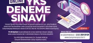 Öğrenciler için 'Online YKS Deneme Sınavı'