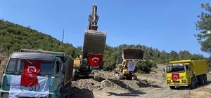Yatağan Yaylaköy barajına ilk kazma vuruldu DSİ Genel Müdürü Kaya Yıldız, Yatağan Yaylaköy'de 825 bin m3 su biriktirme hacmine sahip Yaylaköy Barajının ilk kazmasının vurulduğunu açıkladı.