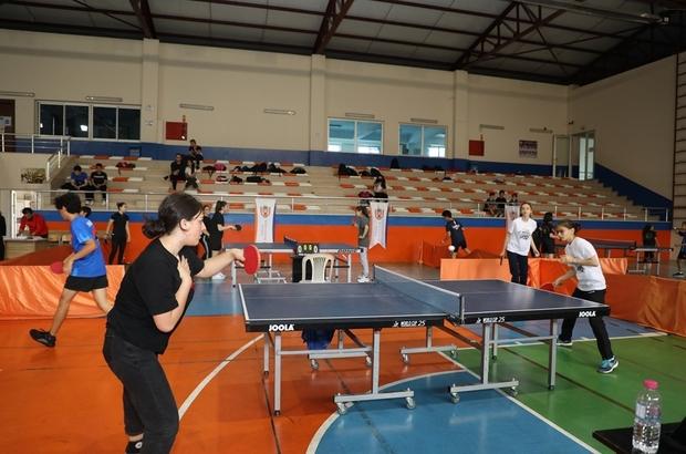 Masa tenisi turnuvasına büyük ilgi