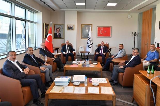 """Nursaçan, MHP İl Yönetiminin ziyaretinde OSB'de yaptıkları çalışmaları anlattı Kayseri OSB Başkanı Nursaçan: """"Al bayrağımızı en yükseğe diktik"""""""