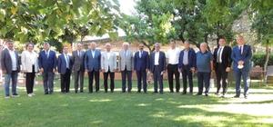 Ege ihracatına yön verenler Seferihisar'da buluştu Ege İhracatçı Birlikleri Başkanları Seferihisar'da Türkiye taze meyve sebze ve mamulleri sektöründe 5 milyar dolar ihracata koşuyor