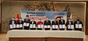 Şahinbey Belediyesi'nden 'KurbanAntep' projesine destek