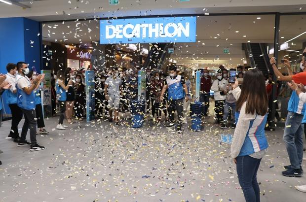 """Decathlon SANKO Park'ta açıldı Uluslararası spor malzemeleri mağaza zinciri """"Decathlon"""", Doğu ve Güneydoğu'da ilk mağazasını  SANKO Park'ta açtı"""