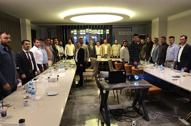 Ülkü Ocakları, İlçe Başkanları toplantısı yapıldı