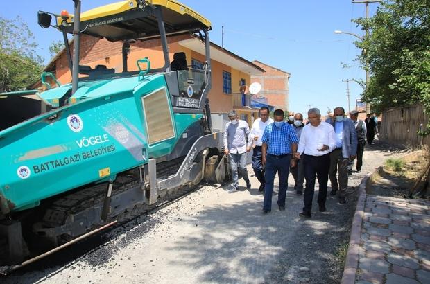 Battalgazi Belediyesi'nden 7 sokağa 2 milyon yatırım