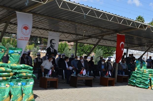 Üreticilere silajlık mısır tohumu dağıtıldı