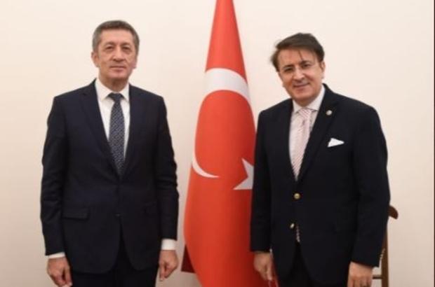 Erzurum Tarım MTAL'de geri sayım Milletvekili Aydemir müjde verdi