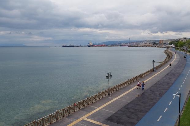 Tekirdağ'da salya gitti deniz cam gibi Rüzgar ve yağış müsilajı temizledi