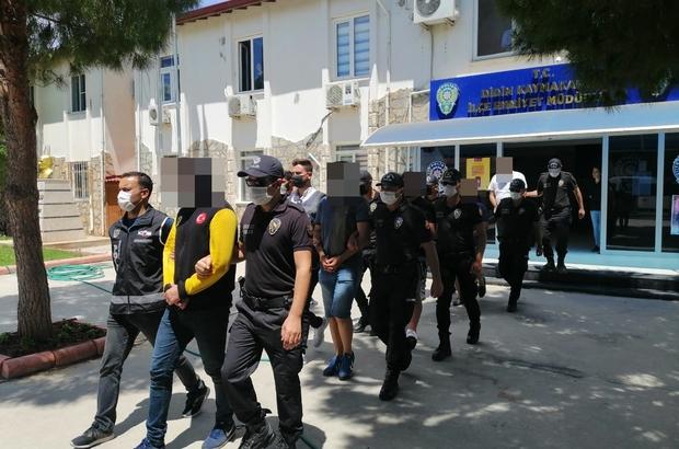 Başkan Atabay'a saldırıda yakalanan şüpheliler adliyeye sevk edildi
