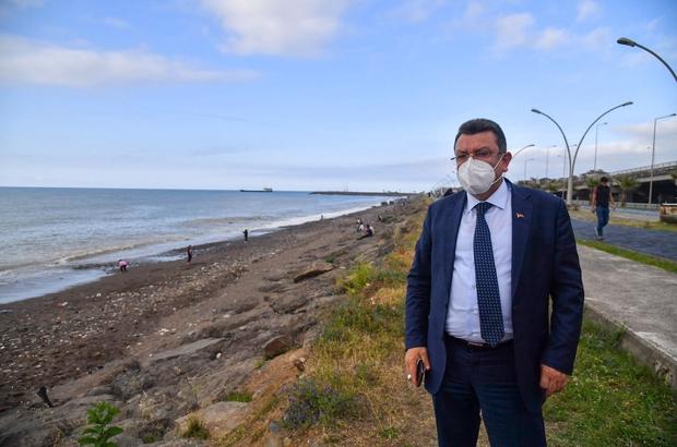 """Başkan Genç: """"Ortahisar sahili Avrupa şehirleri gibi olacak"""""""