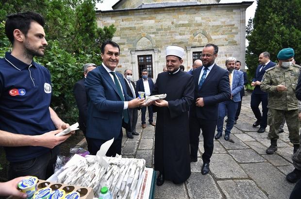 """Murad-ı Hüdavendigâr Kosova'da dualarla anıldı Başkan Dündar: """"Sultan 1. Murad, fethettiği topraklara barış ve adalet getirdi"""""""