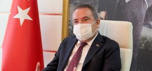 """Böcek: """"Falez Işıklandırma Projesi'nin iptalinde, doğru olanı yaptık"""" Antalya Büyükşehir Belediye Başkanı Muhittin Böcek: """"Biz doğru olanı yaptığımıza inanıyoruz, projenin değiştirilmesine hiç girmedik"""""""
