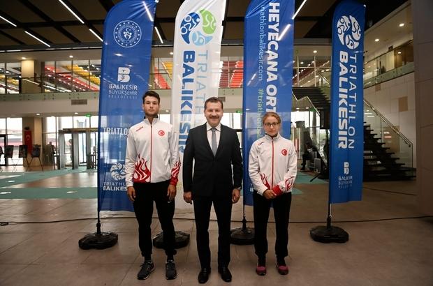 Avrupa Triatlon Kupasının lansmanı yapıldı Balıkesir'de yapılacak şampiyonaya bin 300 sporcu katılacak
