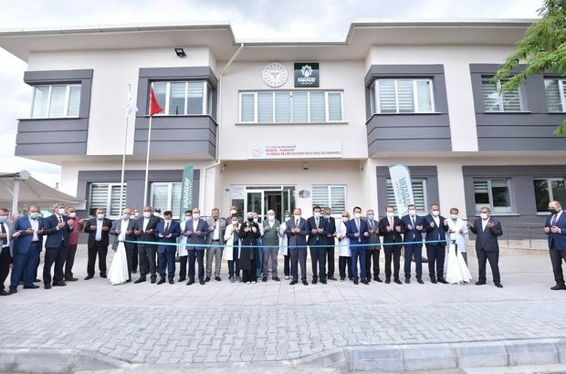 Karatay'da Selim Sultan Aile Sağlığı Merkezi açıldı