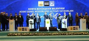 """Başkan Altay: """"507 milyonluk yatırımla Konya'nın altyapısını güçlendiriyoruz"""""""