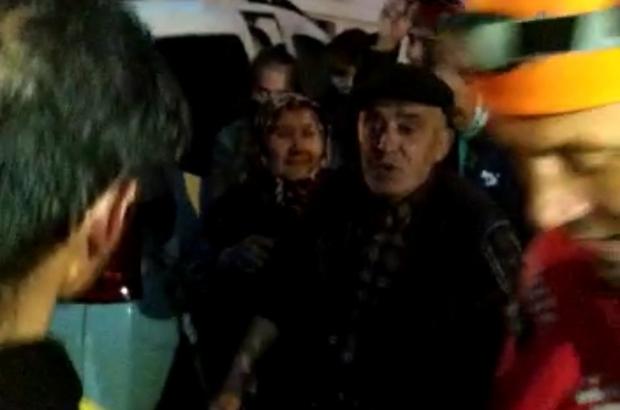 2 saat sonra ormanda bulunan yaşlı adam sevinçle karşılandı
