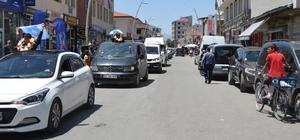 Eleşkirt'te Türkiye 3.lerine Muhteşem Karşılama Yapıldı