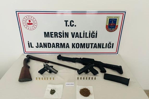 Anamur'daki uyuşturucu operasyonunda 2 kişi gözaltına alındı