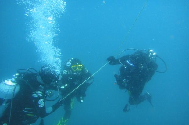 Mersin'de itfaiye ekipleri su altı ve üstü kurtarma eğitimi aldı