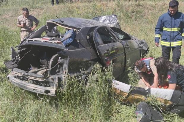 Otomobil takla attı: 2 ölü, 1 yaralı