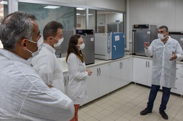 MESKİ'nin su analiz laboratuvarına üniversite ilgisi