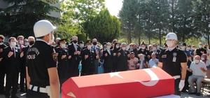 Denizli şehidini bekliyor Şehit polis memuru için Muğla'da tören düzenlendi