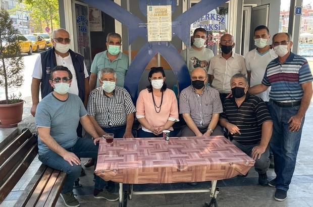 Başkan Çerçioğlu'ndan taksicilere sürpriz ziyaret