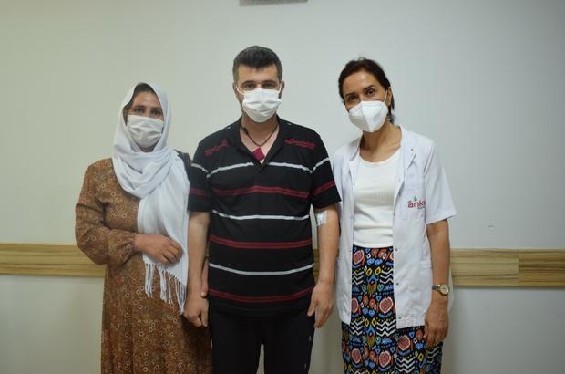 Korona virüs hastası 35 günlük yaşam mücadelesini kazandı