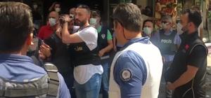 Polis, HDP İzmir İl Örgütü önündeki bekleyişini sürdürüyor