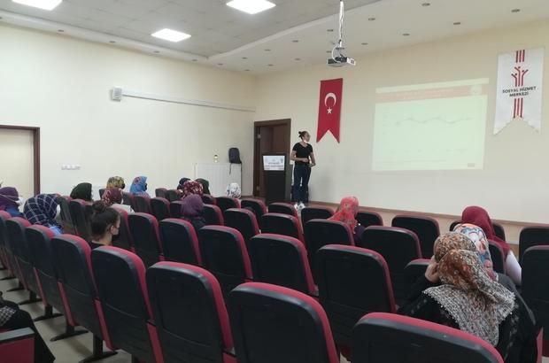 Kilis'te 'Kadına Yönelik Şiddetle Mücüdele' eğitimi verildi