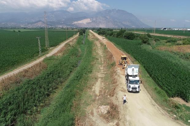 Şehzadeler'in ova yollarında asfalt çalışması başladı