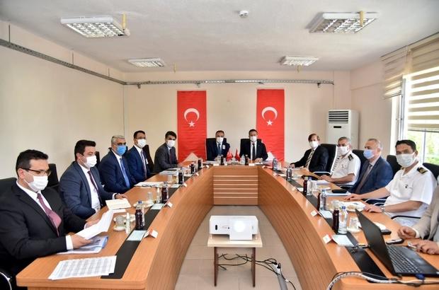 Aydın'da düzensiz göç konusu görüşüldü