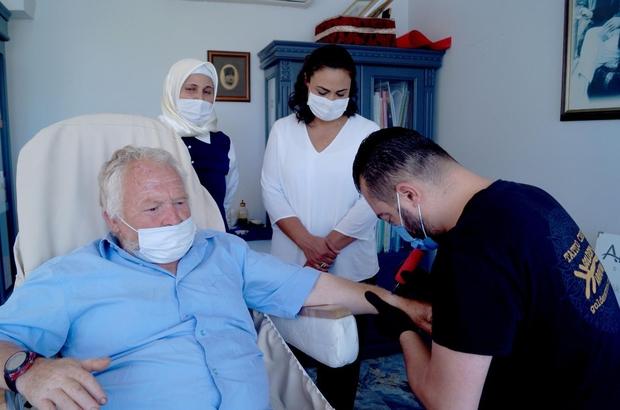 Marmaris AK Parti'den 'Sevgi İzi' projesine destek
